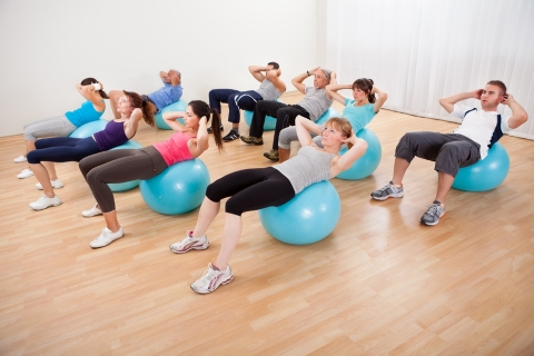 Salle Athla Forme - FitBall